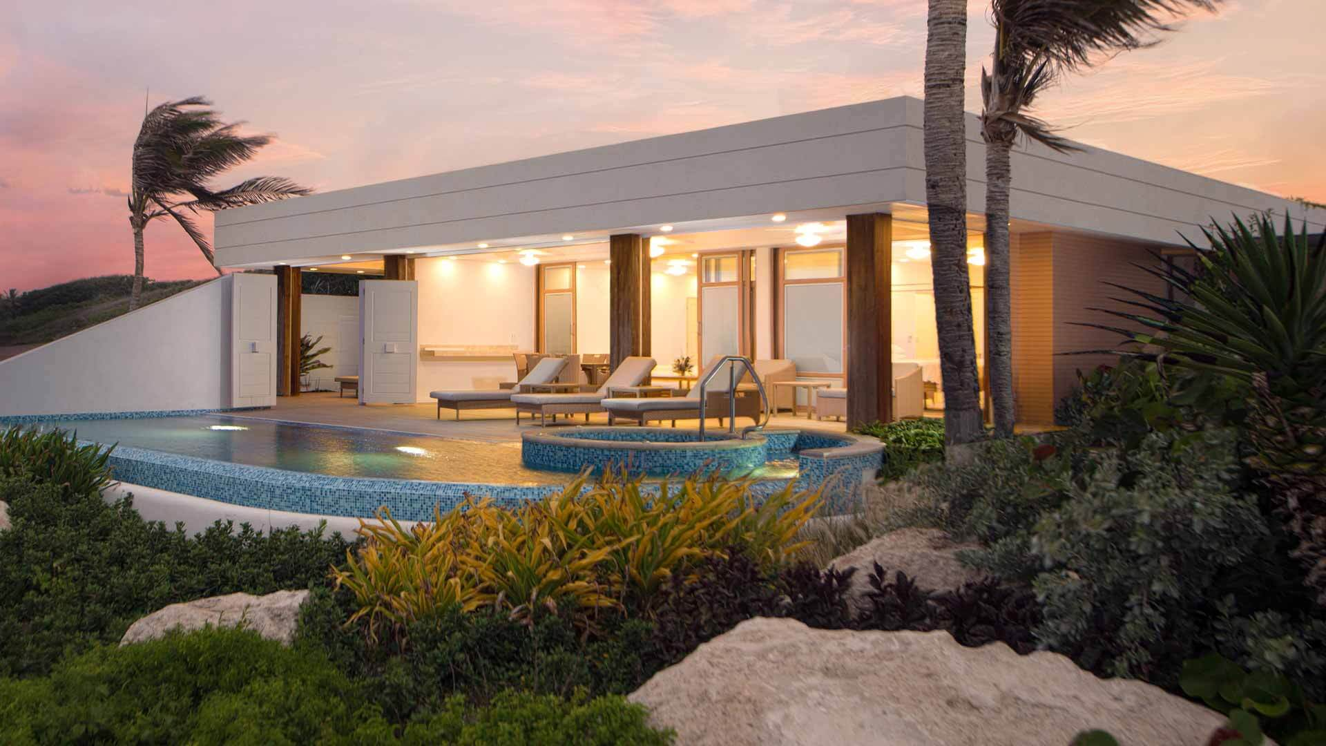 Contemporary vibe on barbados quiet east coast crane for Beach houses on the east coast