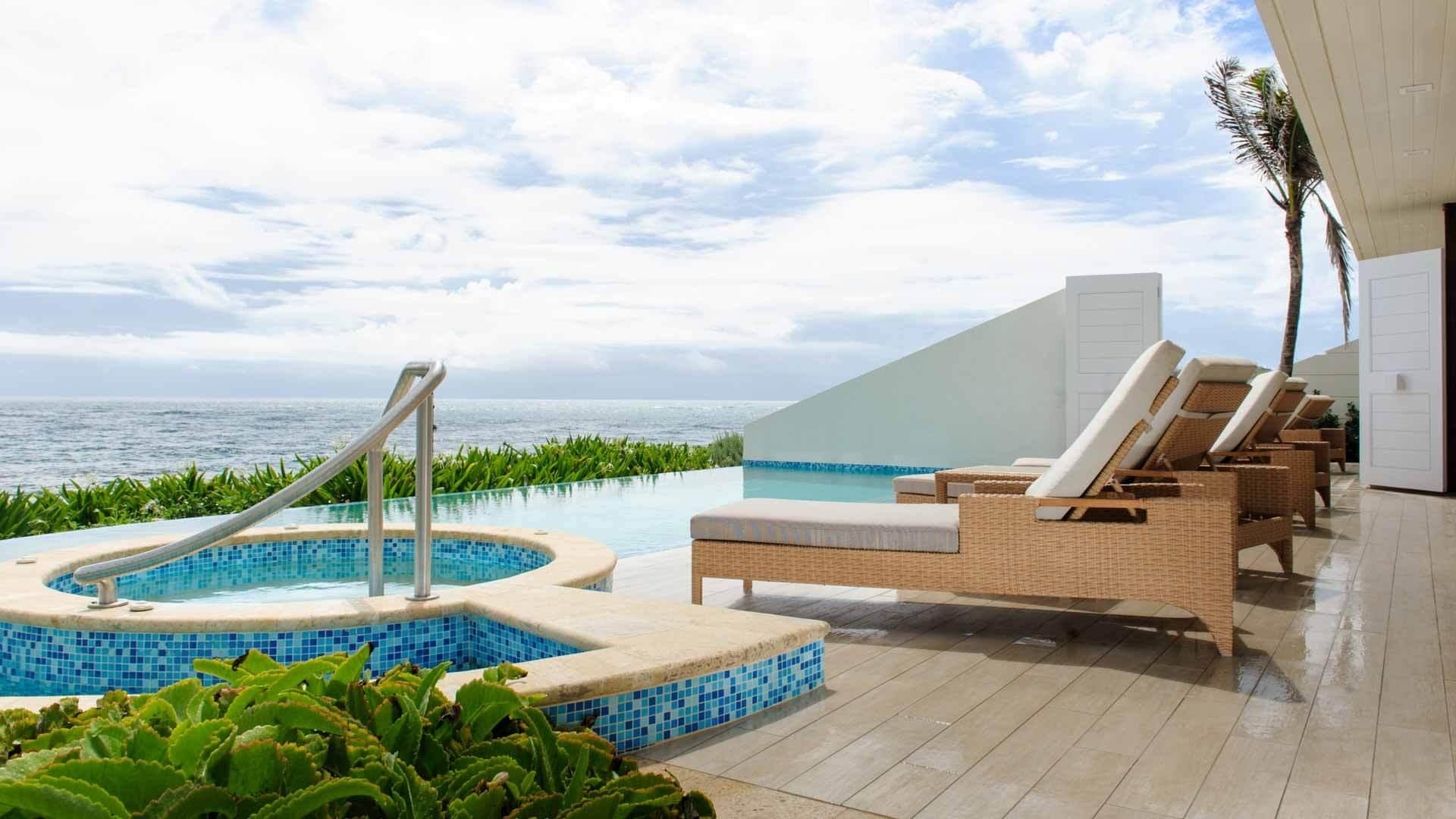 You the sun and Beach Houses Crane Resorts