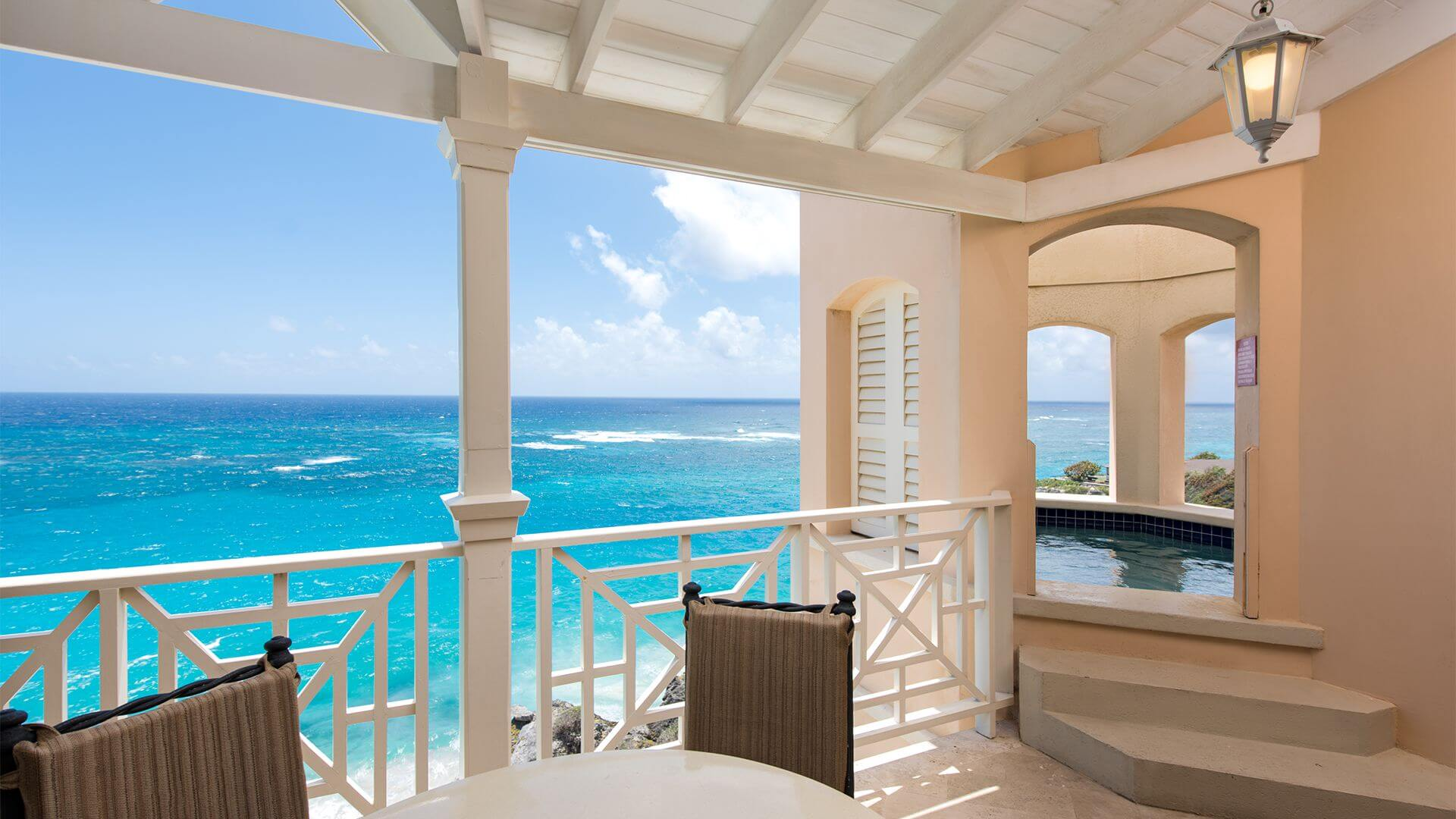 Ocean View Penthouse - Balcony